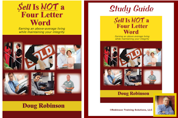 Sales Coaching Book & Study Guide - Sales Sell is NOT a Four Letter Word