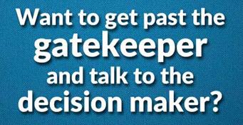 Get Past Gatekeeper