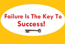 Failure can be Key To Success